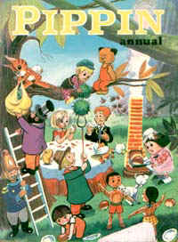 Cover of the 1968 Pippin annual